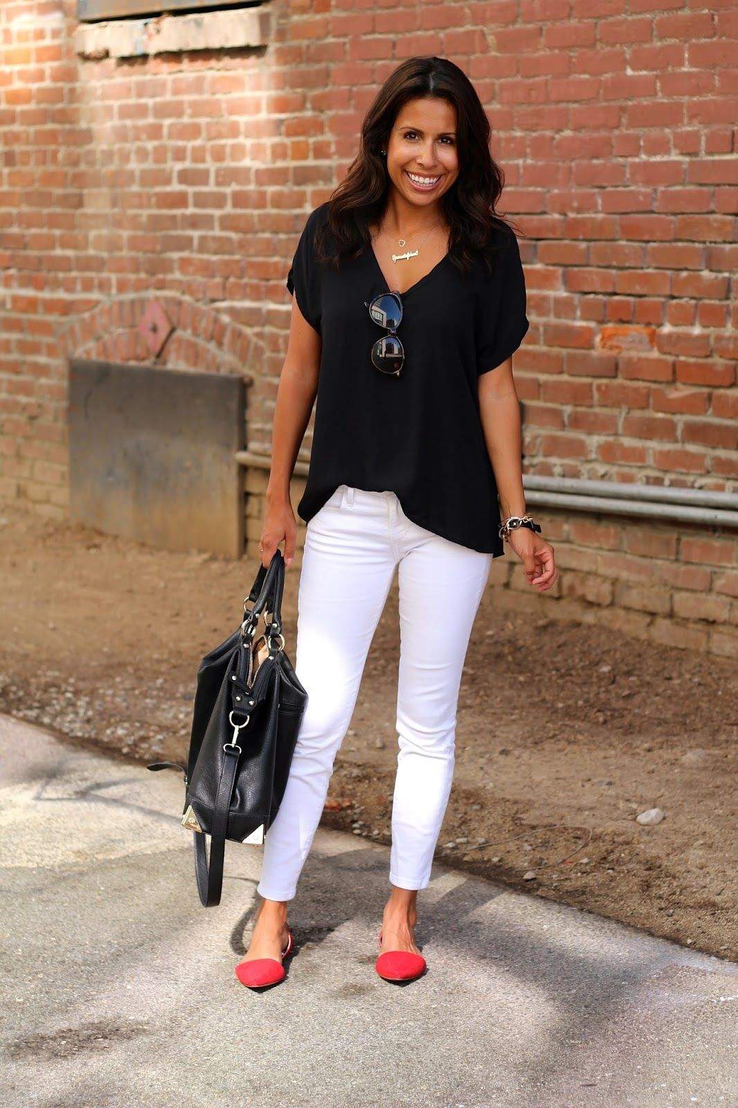 1000  images about White Denim / Pants Coordinate on Pinterest