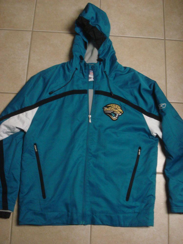 913a6925a Reebok NFL Jacksonville Jaguars Hooded Jacket Large Fleece lined  Reebok   MiamiDolphins
