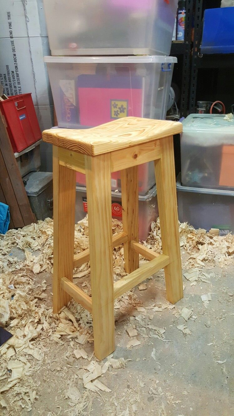 Prime Shop Stool Made With 2 X 4S In 2019 Easy Wood Projects Squirreltailoven Fun Painted Chair Ideas Images Squirreltailovenorg