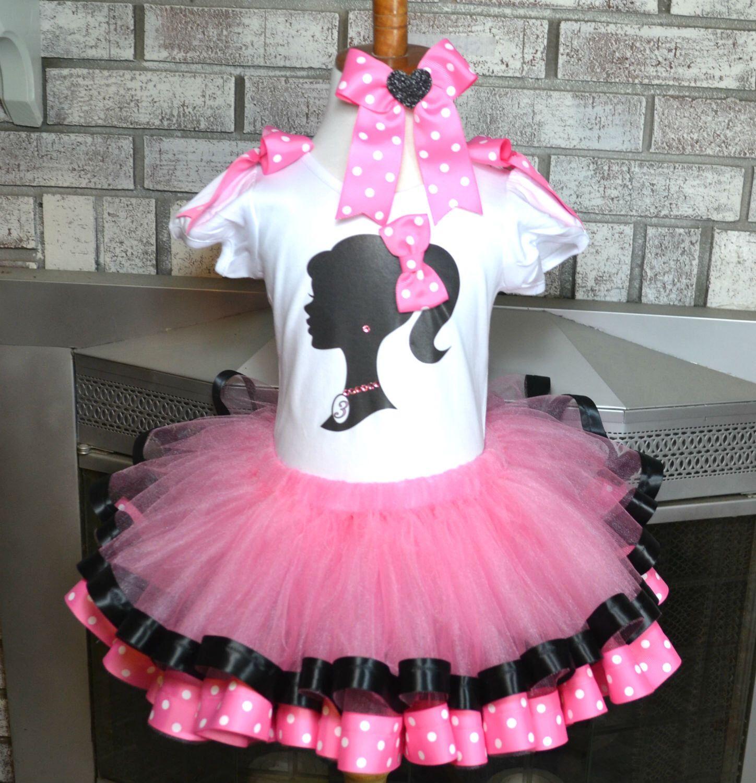 Barbie Tutu / Barbie Birthday Party Barbie Toddler Girls Birthday ...
