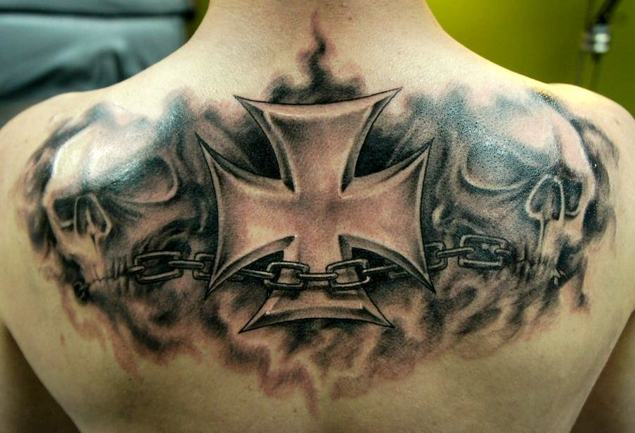27+ Best Iron cross tattoo on elbow meaning image ideas