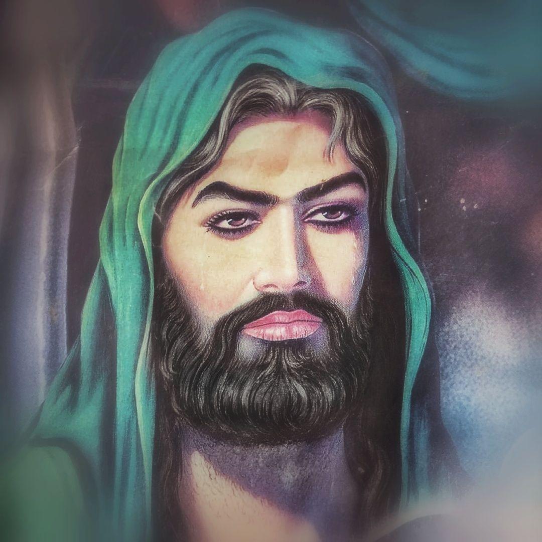 أبي عبد الله الشهيد الحسين بن علي بن أبي طالب رضي الله تعالي عنه Portrait Tattoo Islamic Pictures Portrait