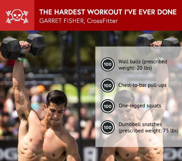 CrossFit's Garret Fisher: The Hardest Workout I've Ever Done #crossfit