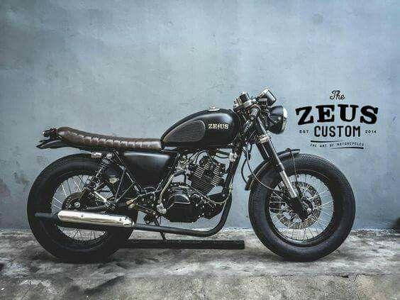 mash 125 by zeus custom motorcycles custom cafe racer triumph cafe racer cafe racer style. Black Bedroom Furniture Sets. Home Design Ideas