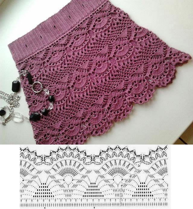 Crochet | ass | Pinterest | Falda, Tejido y Ganchillo
