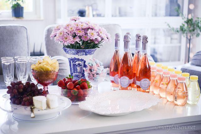 Mingel & rosa bubblor