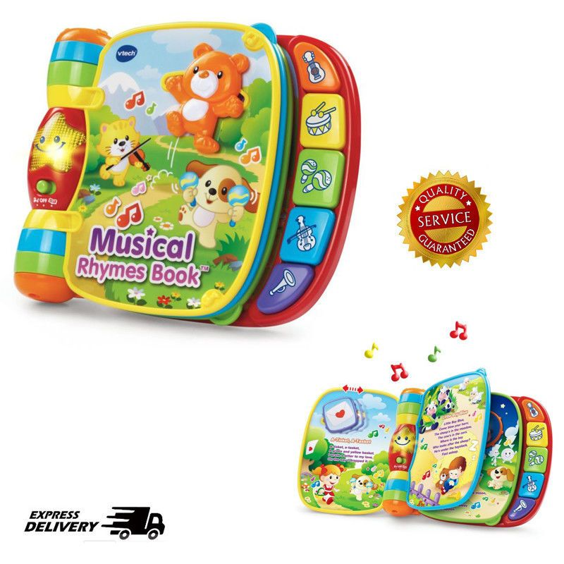 Baby Toddlers Boy Girl Developmental Book Educational Toys For 2 Year Olds Kids Vtech Interactive Baby Toys Educational Toys Toddler Books