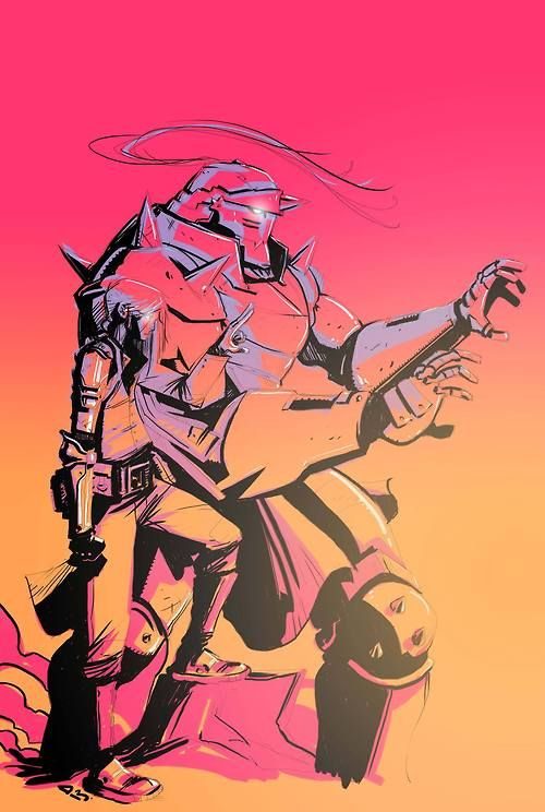 Ed and Al Elric by Dylan Burnett