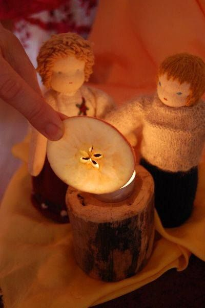"""The Autumn Star Fairies Song for children ~ Amber Greene (here the link: http://www.parentingfuneveryday.com/fun/songs-and-music/the-autumn-star-fairies-song-for-children/) ~ """"The autumn star fairies put stars everywhere  In starfruits, and seedpods, and apples and pears  The little stars woven to shine their light  And guide the earth's children through autumn light."""""""