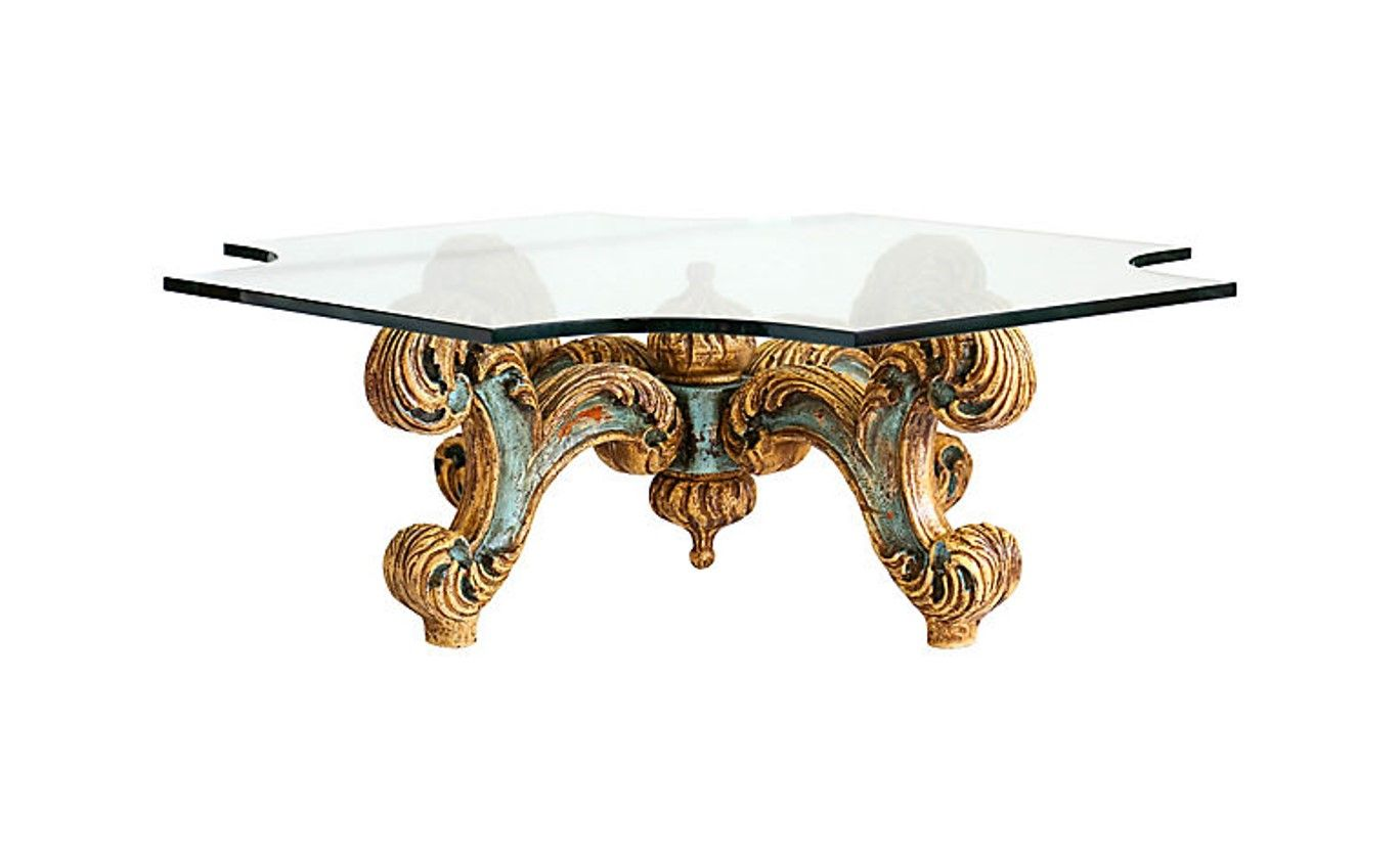 Miraculous Carved Italian Coffee Table For Sale At Janneyscollection Interior Design Ideas Clesiryabchikinfo