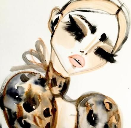 64 New Ideas for makeup face sketch fashion illustrations -   8 makeup Face sketch ideas