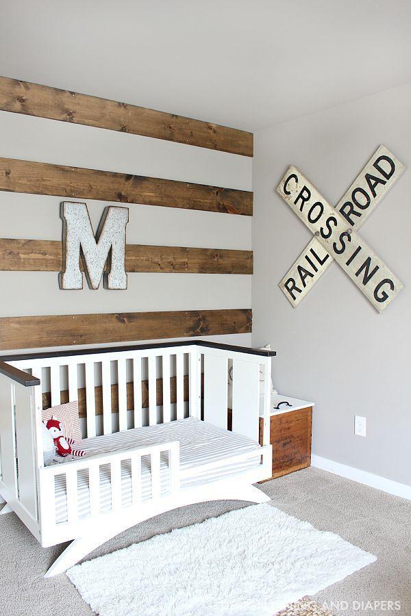 Rustic Toddler Boys Room
