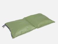 Organizador 810 verde Bolsa ultraligera especial para organizar la maleta dividida en 2 apartados y cierre a ambos lados con cremallera.
