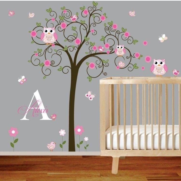 Lovely Wandtattoos Fürs Babyzimmer   50 Süße Gestaltungsideen