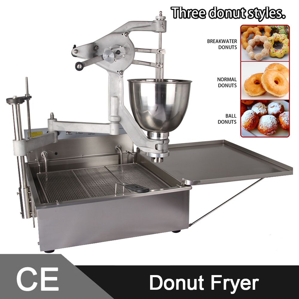 Find More Electric Deep Fryers Information About Marchef T102 Manual Operated Commercial Donut Fryer Machin Fryer Machine Donut Maker Home Appliances