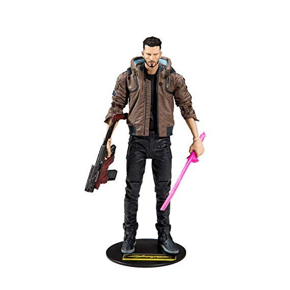 Dark Horse Comics Cyberpunk 2077 Male V Figure Replica and Video Game Figurine