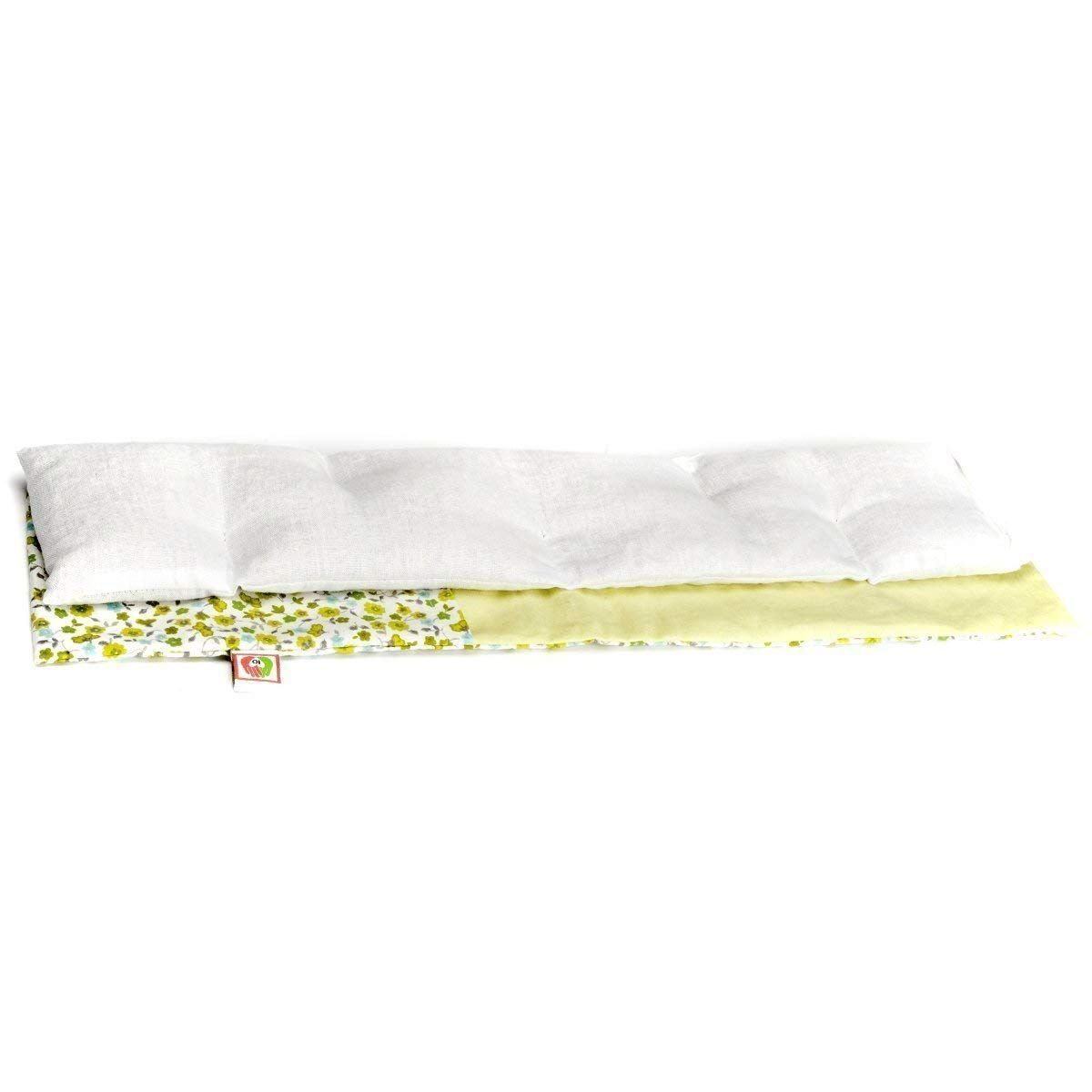 Cuscino Di Grano Per Cervicale.Cuscino Termico Cervicale 50x10 Cm Semi Di Grano E Fiori Di