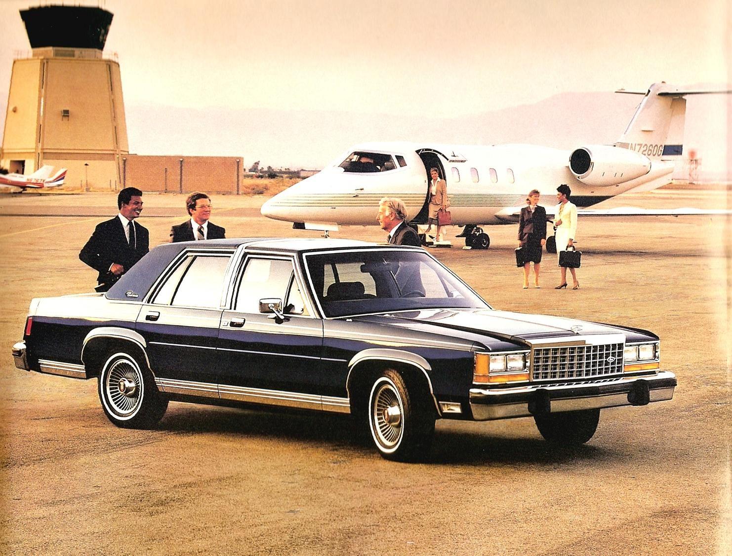 1985 ford ltd crown victoria