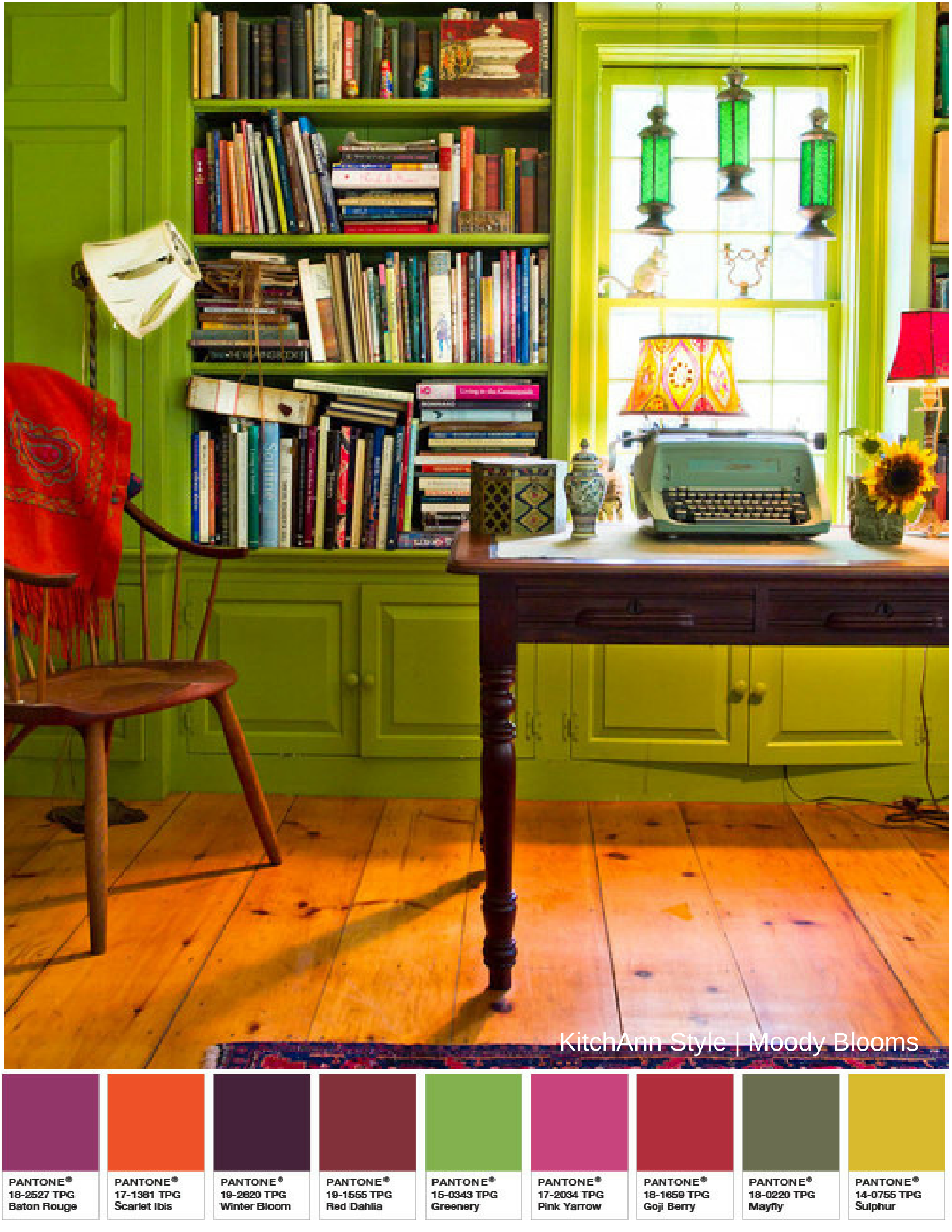 Pantone s colour of the year 2017 greenery in kids rooms - Pantone Color Of The Year 2017
