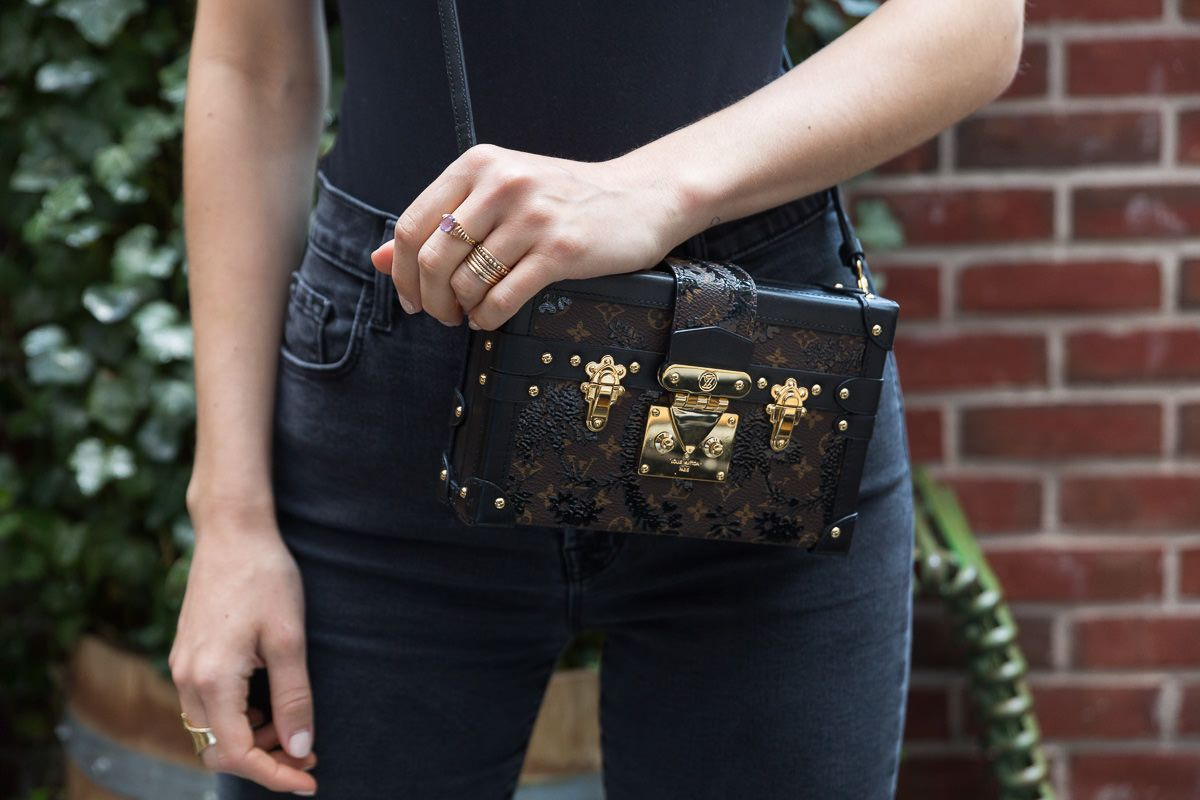 04911094f4ae A Closer Look at the Louis Vuitton Petite Malle Bag