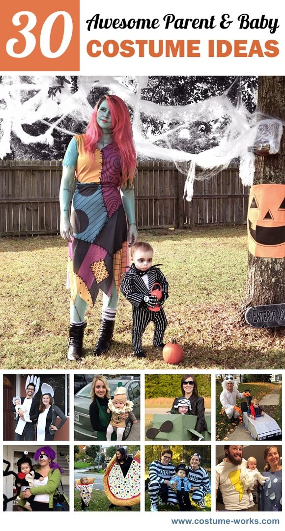 30 Awesome Parent Baby Costume Ideas Mom Halloween Costumes Daughter Halloween Costumes Mother Son Halloween Costumes