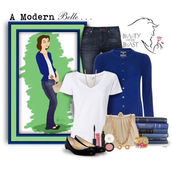 """A Modern Belle..."" by of-simple-things on Polyvore"