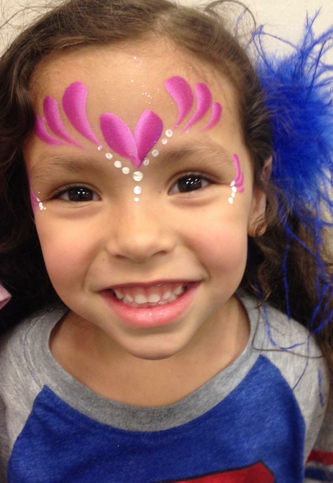 Tiger Face Painting 36