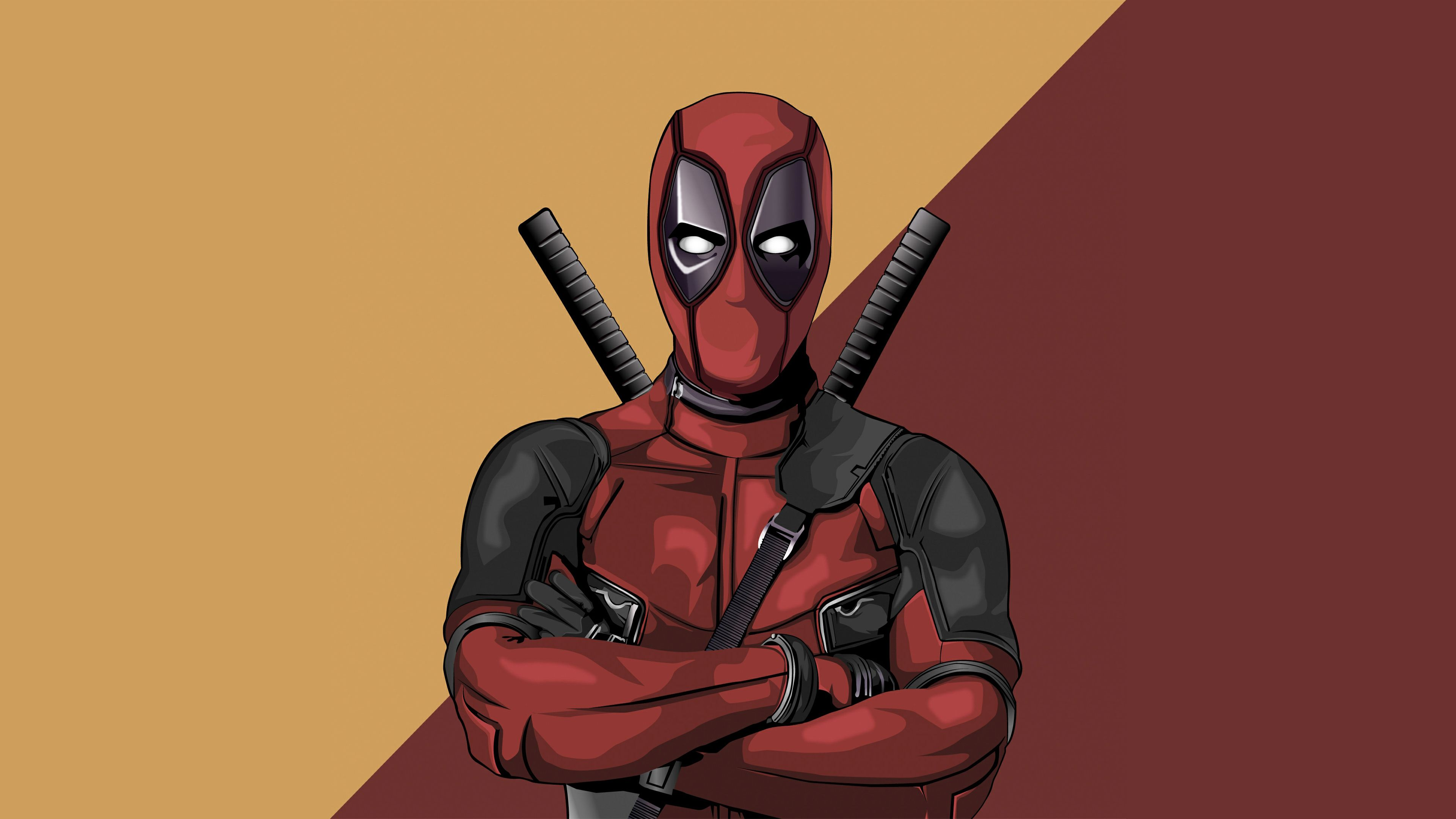 Deadpool Vector Artwork 4k Vector Wallpapers Superheroes Wallpapers Hd Wallpapers Digital Art W Vector Artwork Deadpool Wallpaper Desktop Deadpool Wallpaper