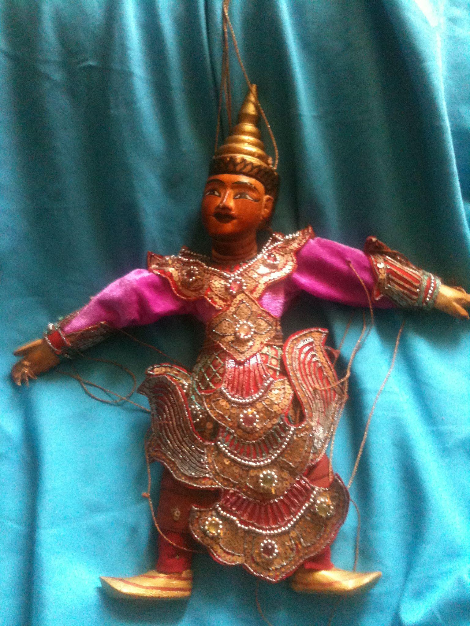 Pandawan indian puppet