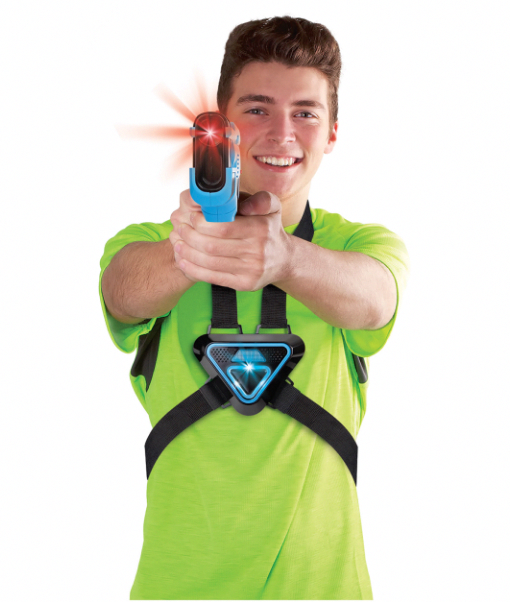 Laser Tag Game Equipment Guns and Vests for Kids Home