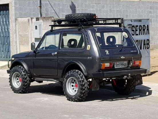 Lada Niva 1 6 4x4 Gasolina 2p Manual Carros Carros De Luxo Motos