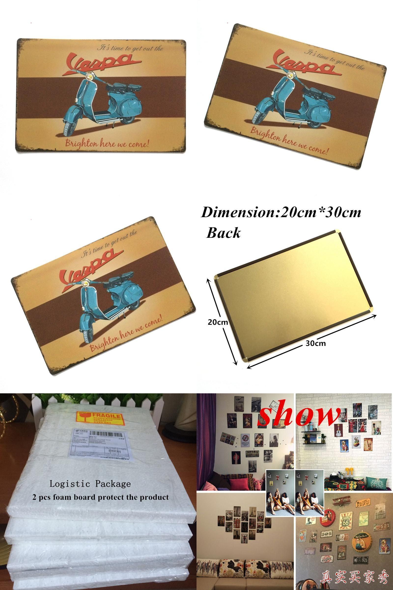Visit to buy hz vintage metal painting retro metal tin sign cm