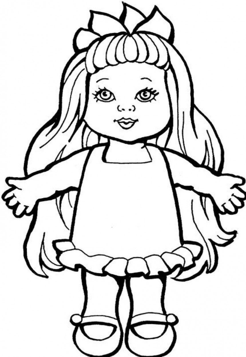 Doll Coloring Pages Google Search Monster Coloring Pages Cat Coloring Page Doll Drawing