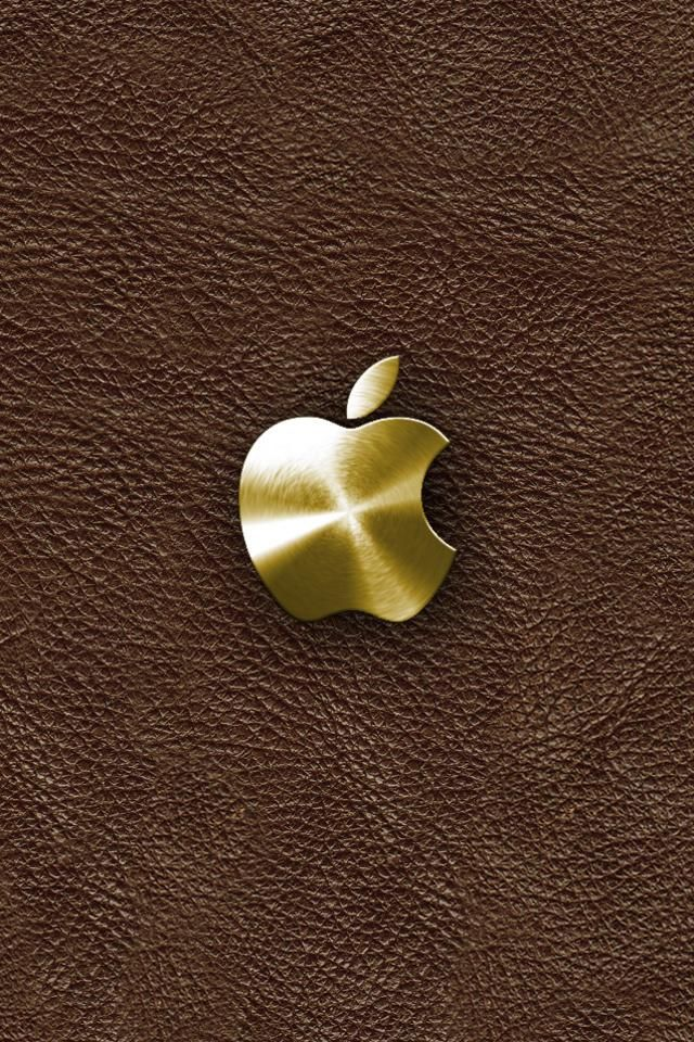 gold iphone wallpaper gold apple iphone 4s wallpaper 640x960