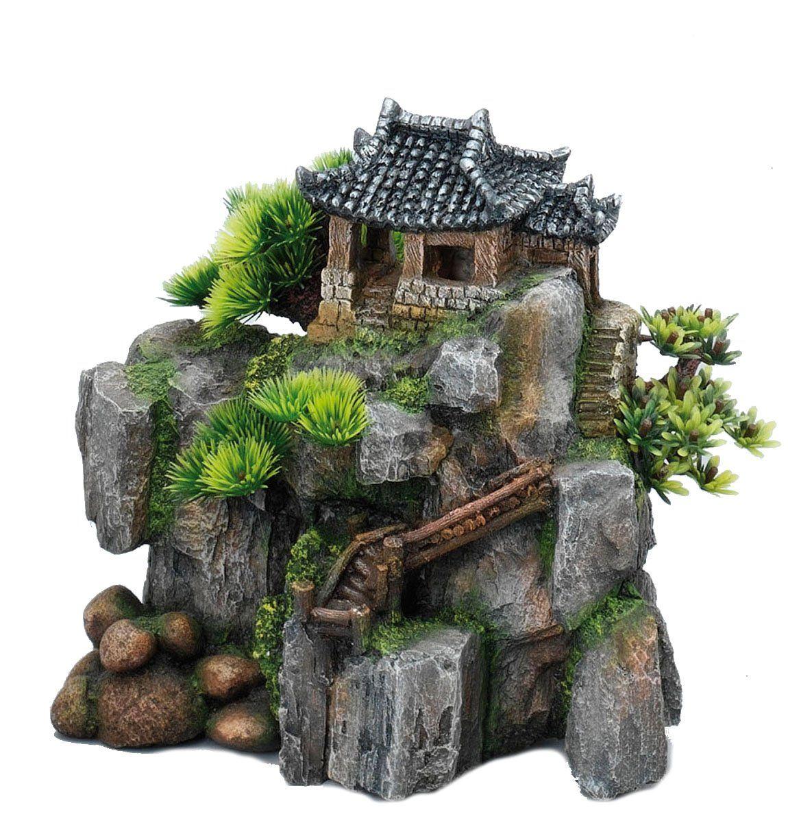 Europet Bernina 234 194706 Decor Korean Cottage 23 X 13 5 X 22 Cm Amazon De Haustier Aquarium Deko Haustierbedarf Terrarium