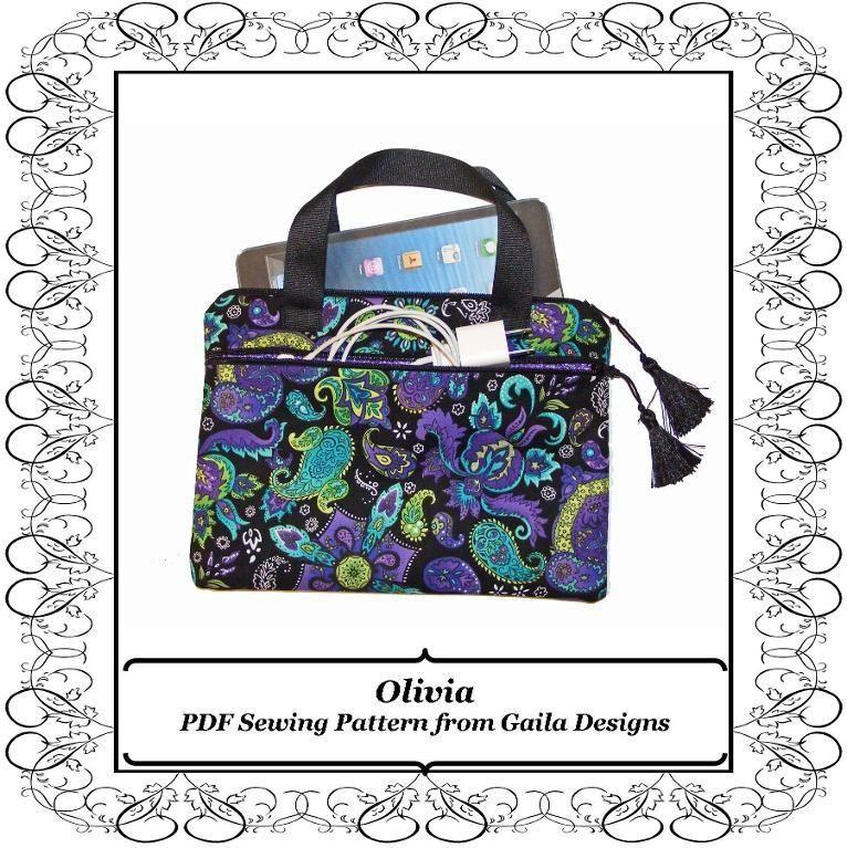 The Olivia Ipad Mini Case Pdf Pattern Bags Bags Bags