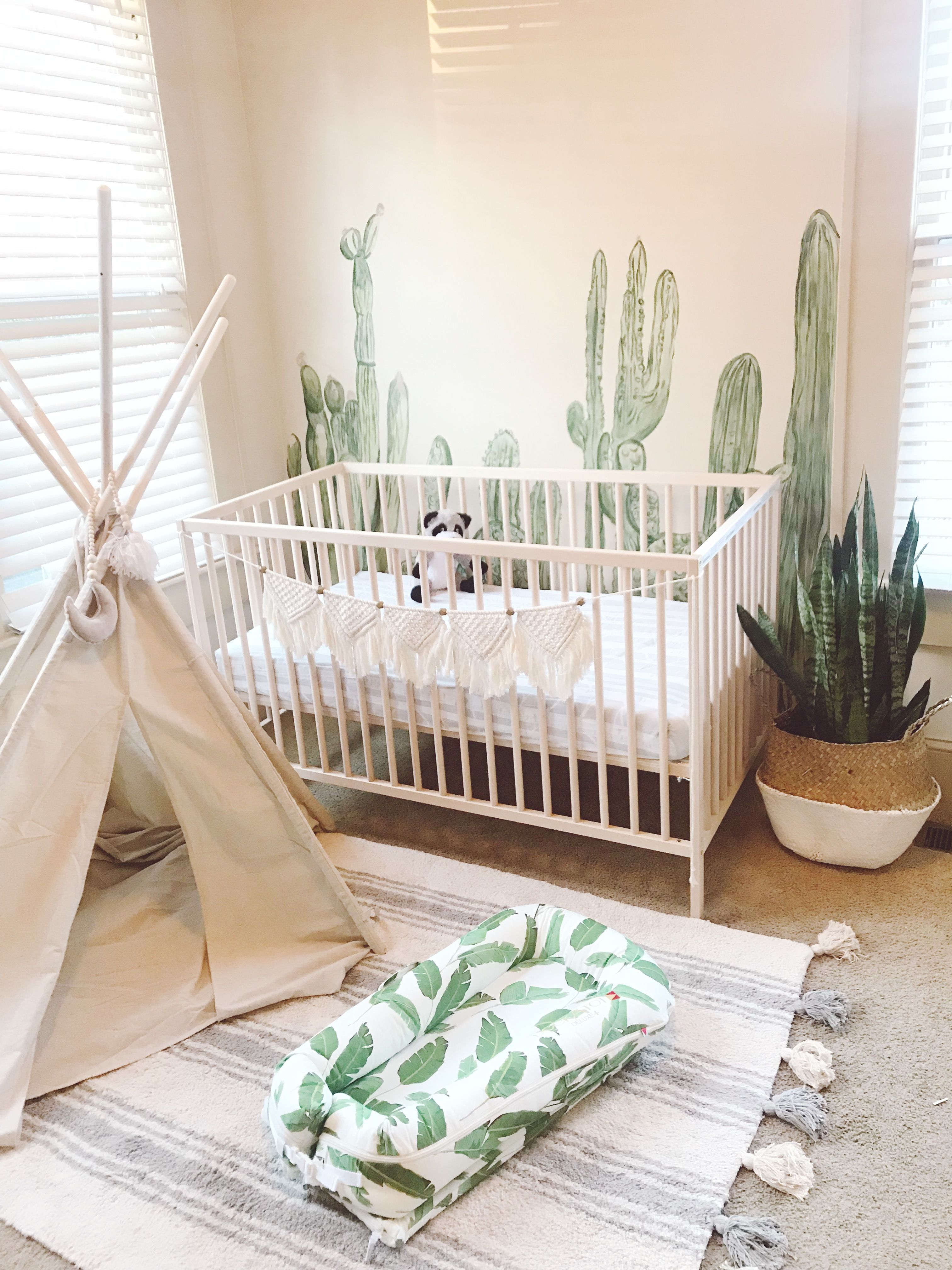 ☽ Bohemian Boys Nursery ☾ Hippienaturally.com  Déco chambre