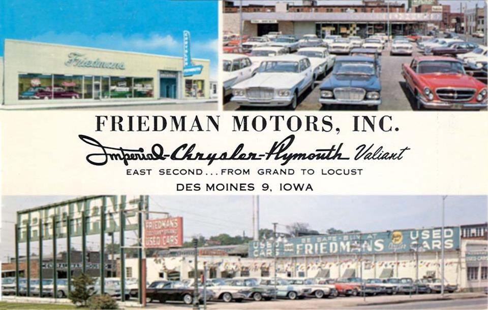 62 Mopar Dealership Buildings... Des moines, Iowa