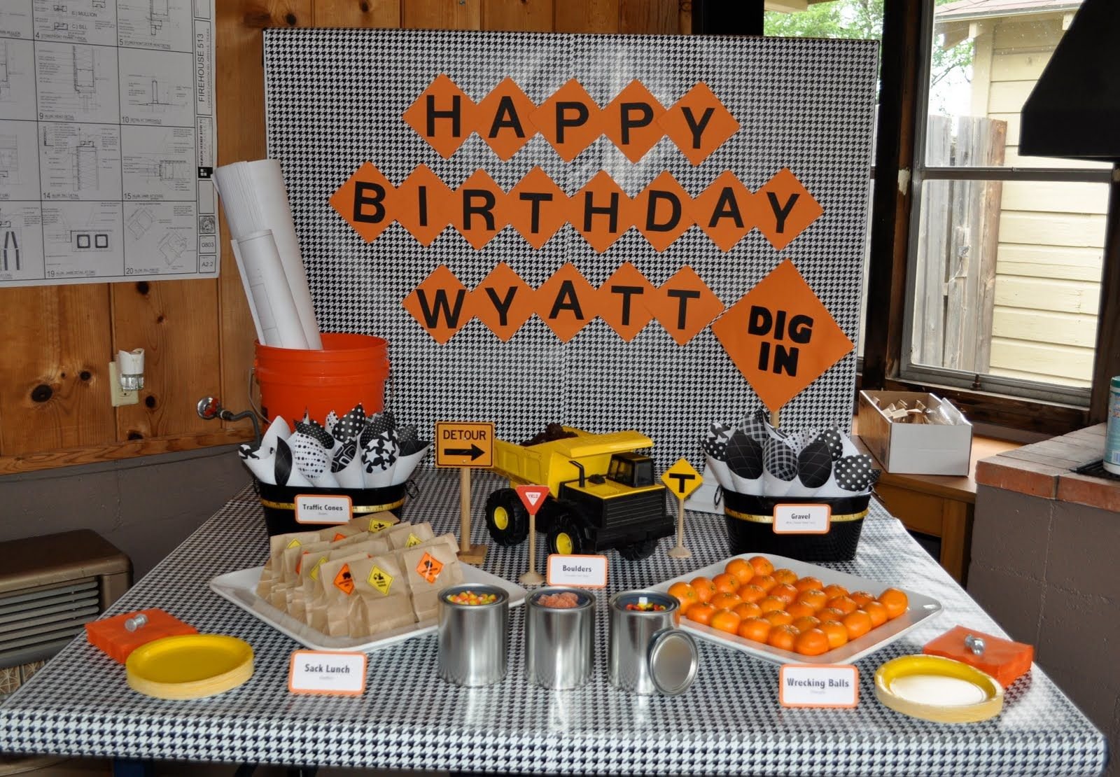 construction party ideas construction birthday parties