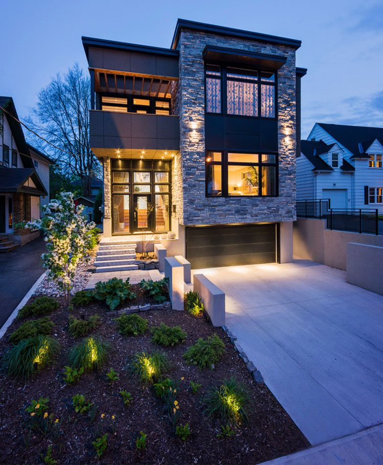 30 Contemporary Home Exterior Design Ideas: 15 Ville Moderne Di Lusso Dal Design Contemporaneo