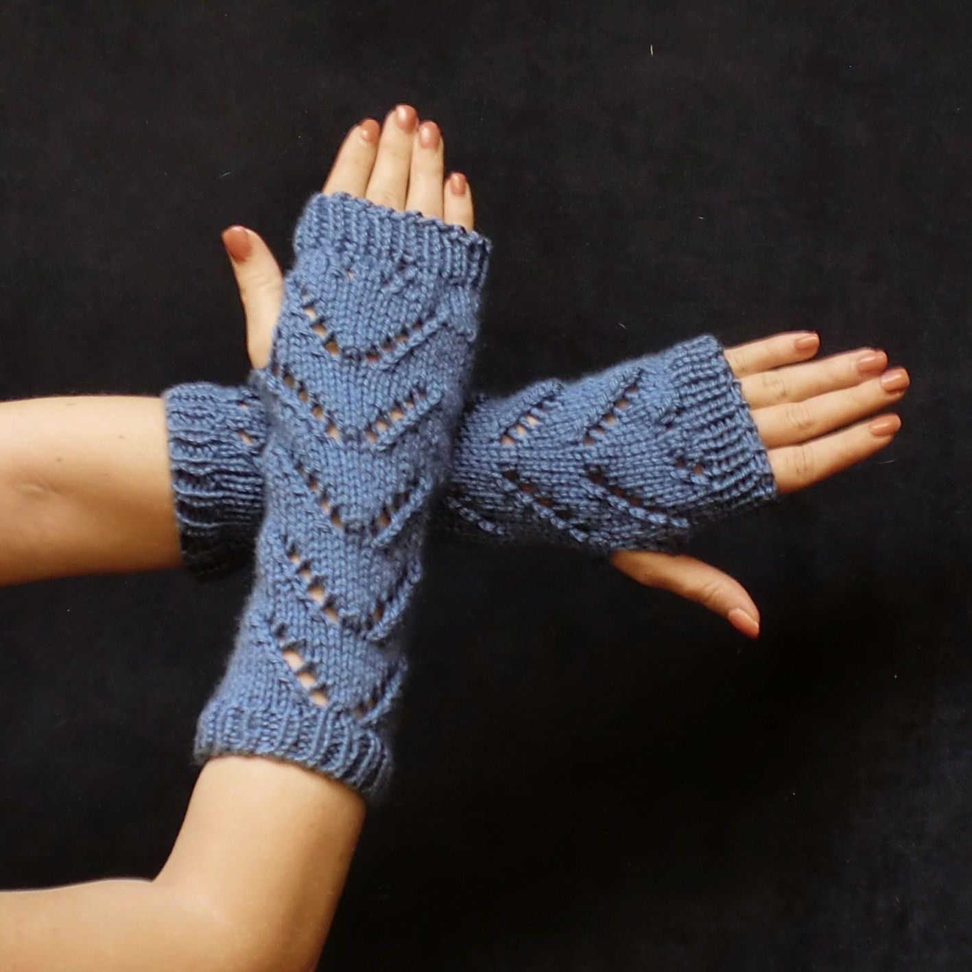 Chevron Wrist Warmers