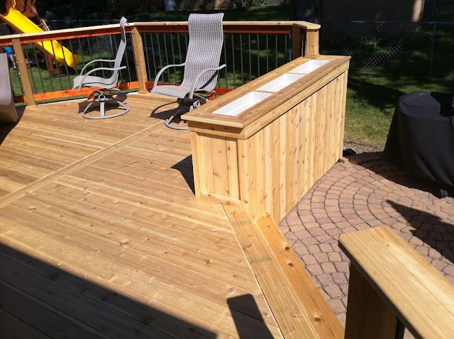 planter for the deck