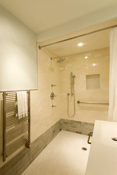 residential construction services handicap bathroom