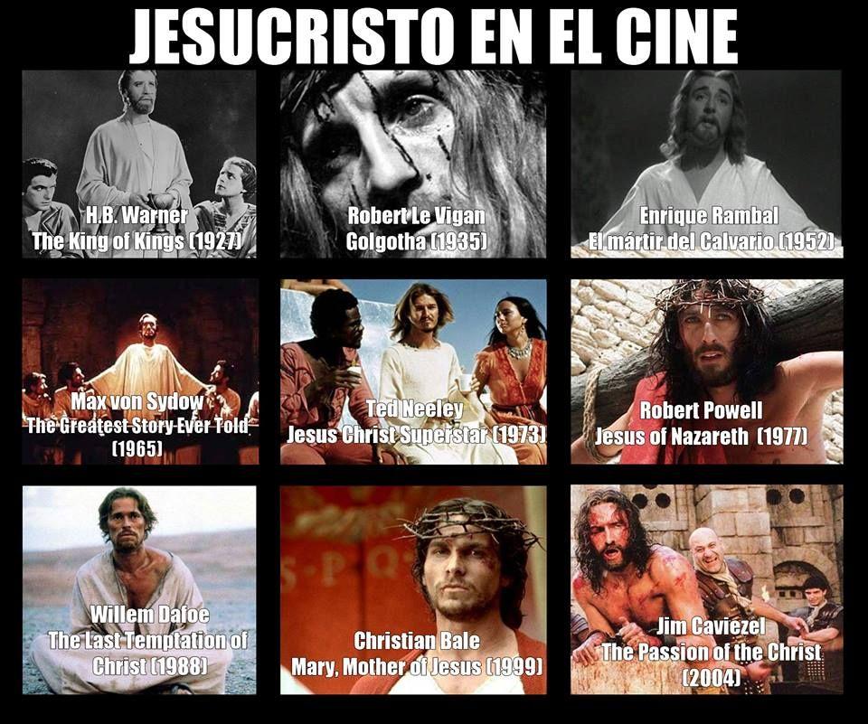 Estos son sólo algunos de los actores que han interpretado a Jesucristo en el cine.