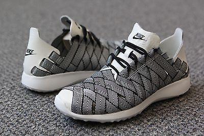 newest 8523f f7165 833825-002 Nike Women Juvenate Woven Premium Black Sail White