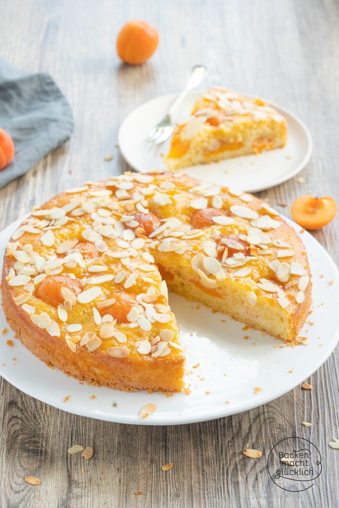 Photo of Einfacher, saftiger Aprikosenkuchen | Backen macht glücklich