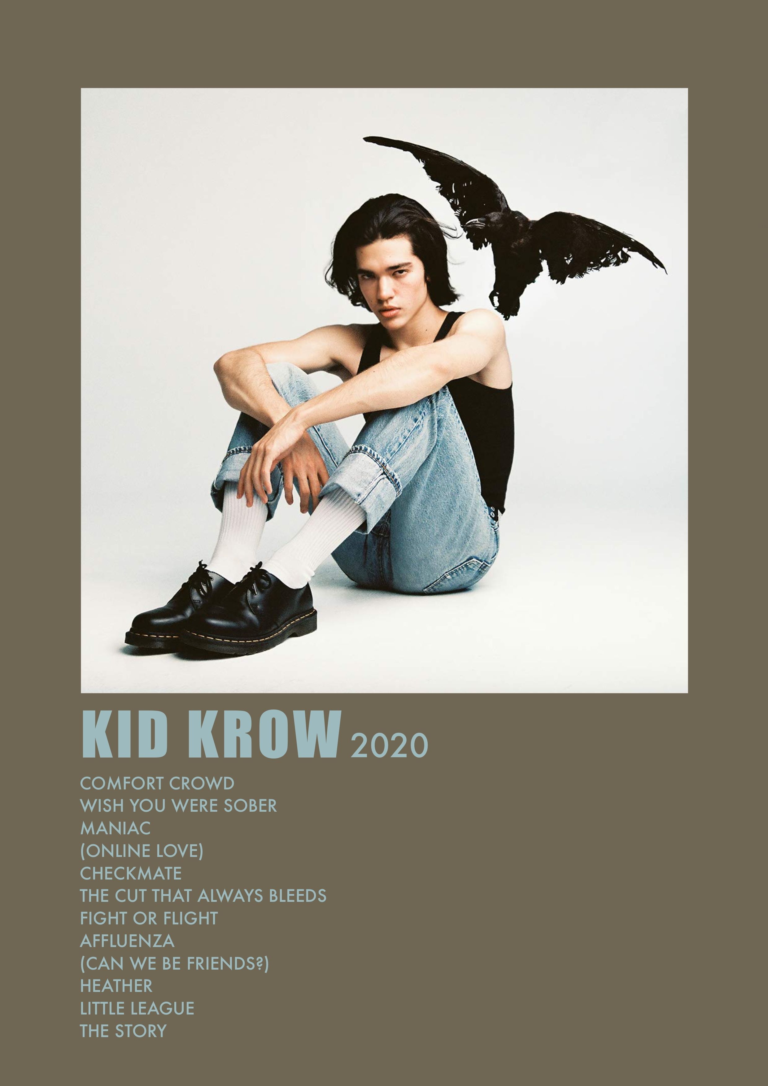 Kid Krow Album Poster