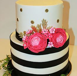 Kate spade inspired cake | Flour Bouquet Co Cakes in 2019 | Elephant ...