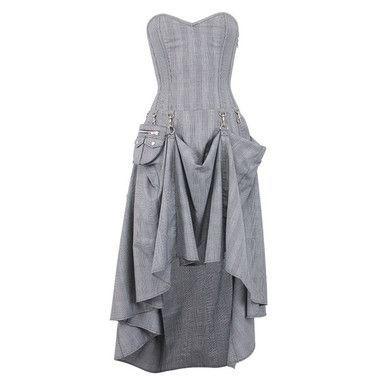 steampunk dresses  steampunk clothing  steampunk corset