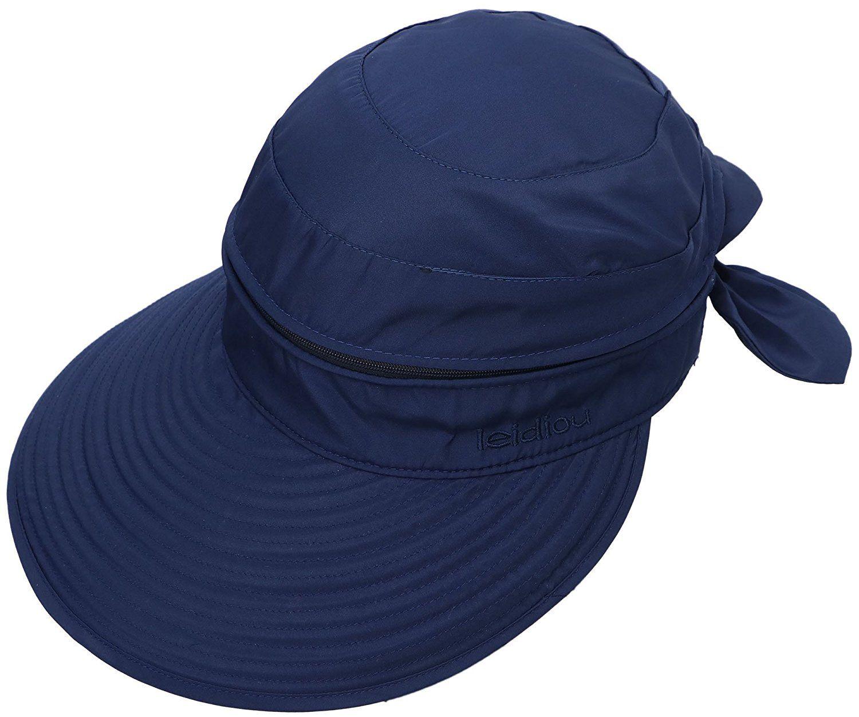Simplicity Women S Upf 50 Uv Sun Protective Convertible Beach Hat Visor Awesome Product Click The Image Best Travel Visor Hats Sun Hats Summer Hats Beach